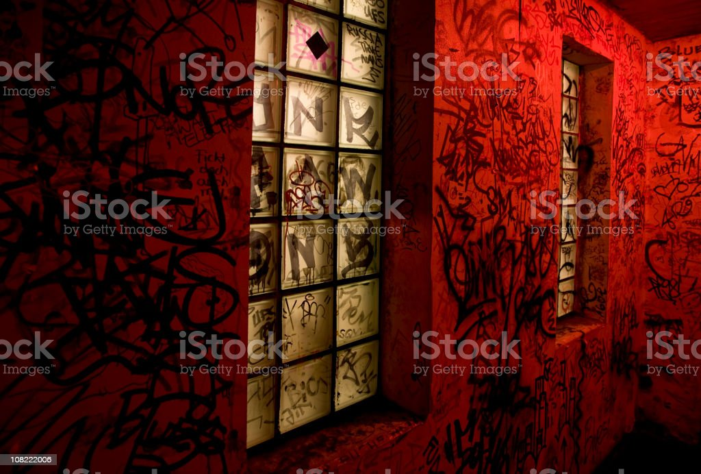 граффити для ночного клуба