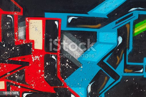 istock Graffiti on Wall 155437667