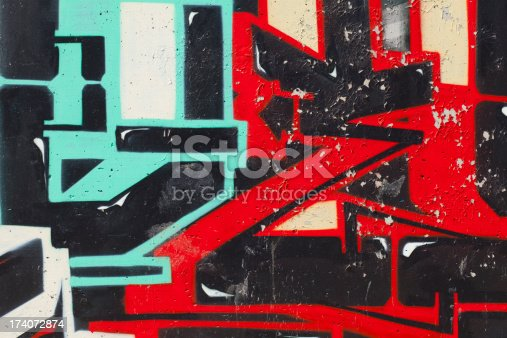 istock Graffiti on Wall 174072874