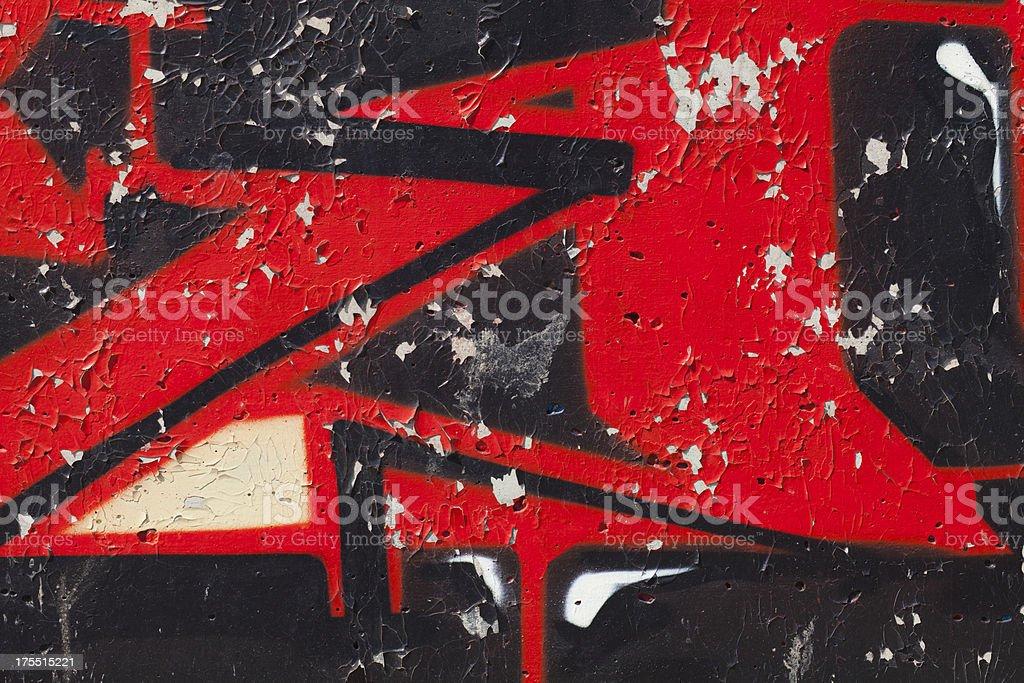 Graffiti on Wall royalty-free stock photo