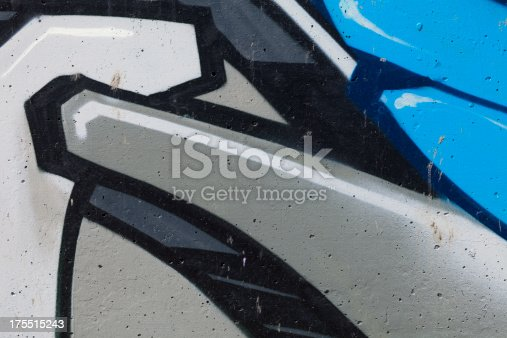 istock Graffiti on Wall 175515243