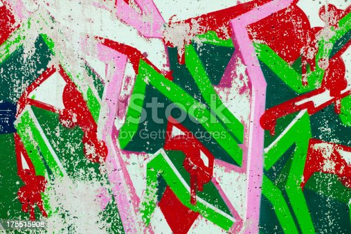 istock Graffiti on Wall 175515908