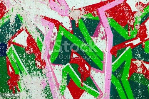 185278362 istock photo Graffiti on Wall 175515908