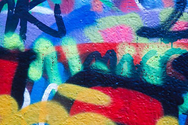 graffiti - duvar yazısı stok fotoğraflar ve resimler