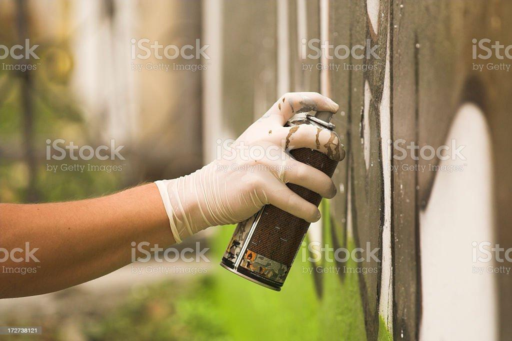 Graffiti royalty-free stock photo