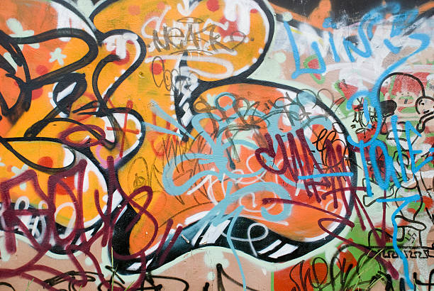 925 Background Of A Cool Graffiti Wallpaper Stock Photos Pictures Royalty Free Images Istock