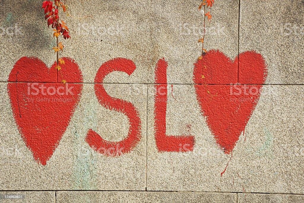 Graffiti. royalty-free stock photo