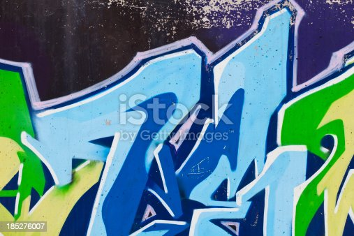 185278362 istock photo Graffiti 185276007