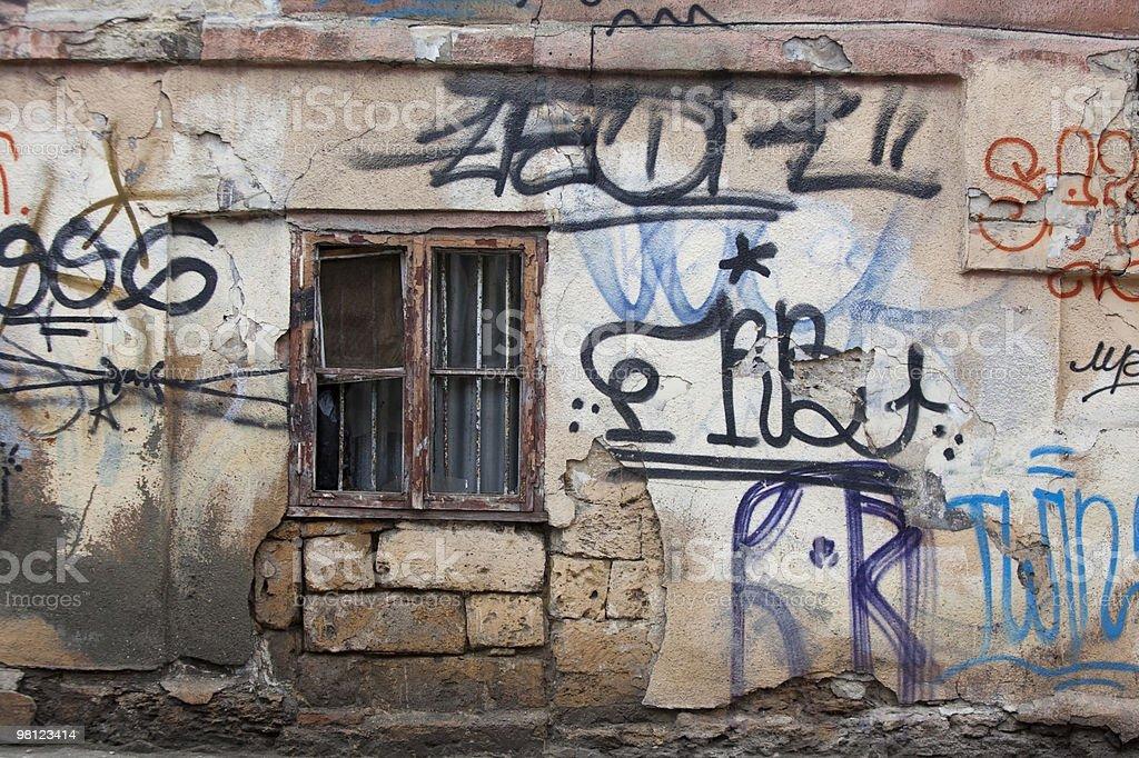 Graffiti Russian Style royalty-free stock photo