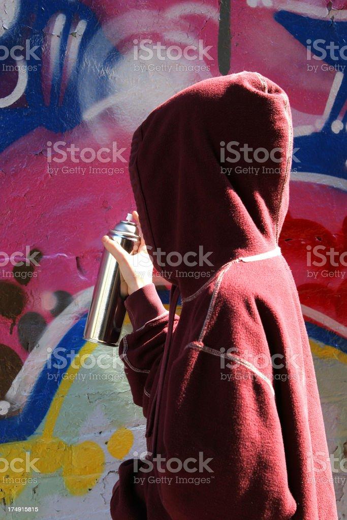 Graffiti Series - 01 royalty-free stock photo
