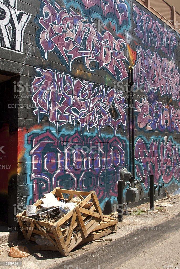 Photo Libre De Droit De Style Graffiti Calligraphie Peinture