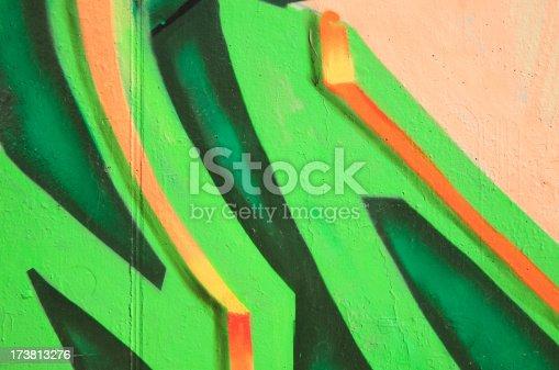1084390994istockphoto Graffiti: vandalism or urban art. Series 173813276