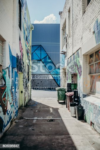 488380038 istock photo Graffitti walls in Melbourne, Australia. 805095642