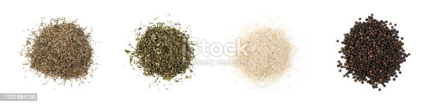 legumes isolated on white background