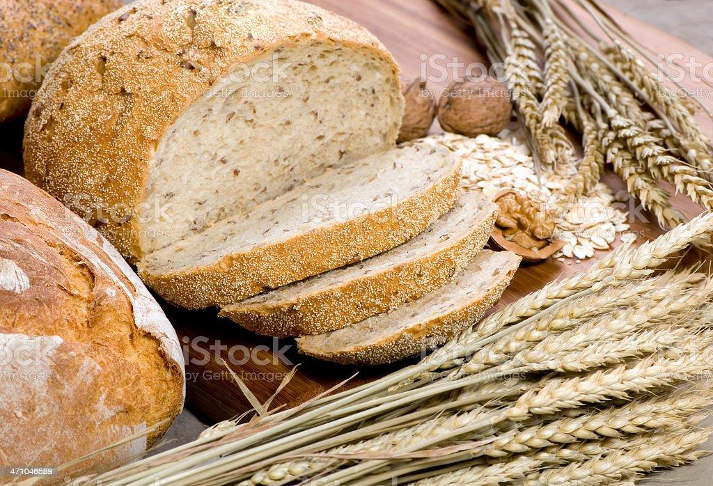 Grain Bread 8 stock photo