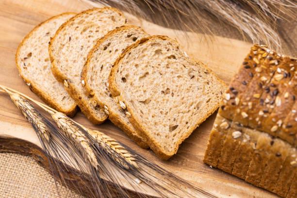 9 butir roti - gandum potret stok, foto, & gambar bebas royalti