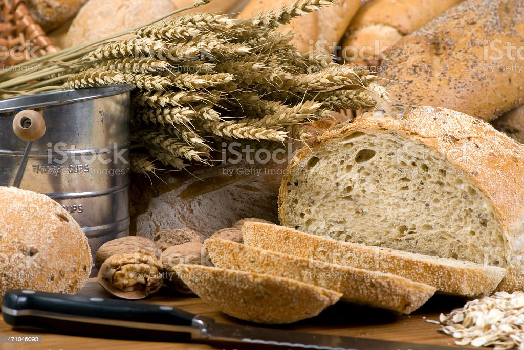 Grain Breads 4 royalty-free stock photo