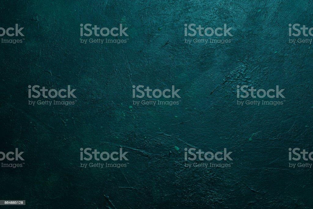 Textura de grano fondo abstracto verde oscuro diseño - foto de stock