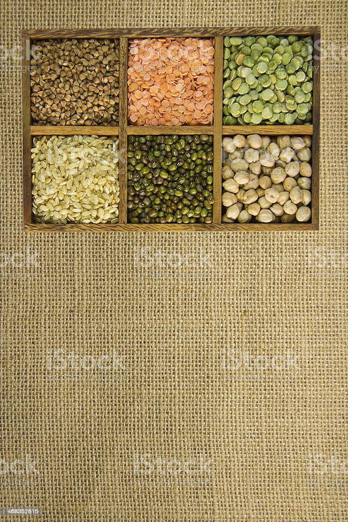 Grain legumes royalty-free stock photo