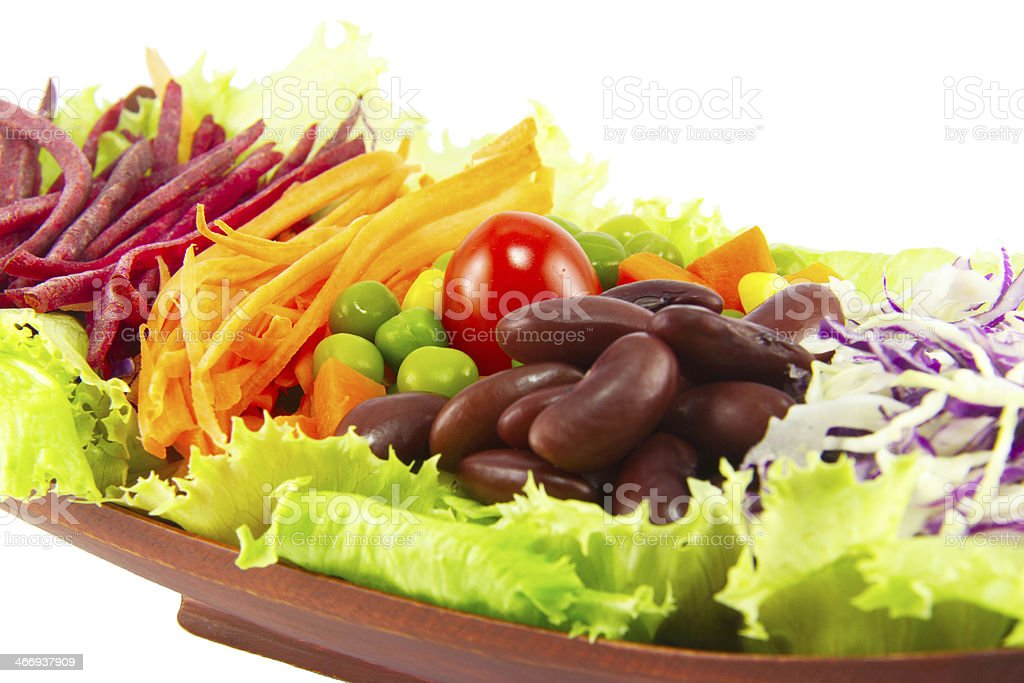 Grain salad royalty-free stock photo