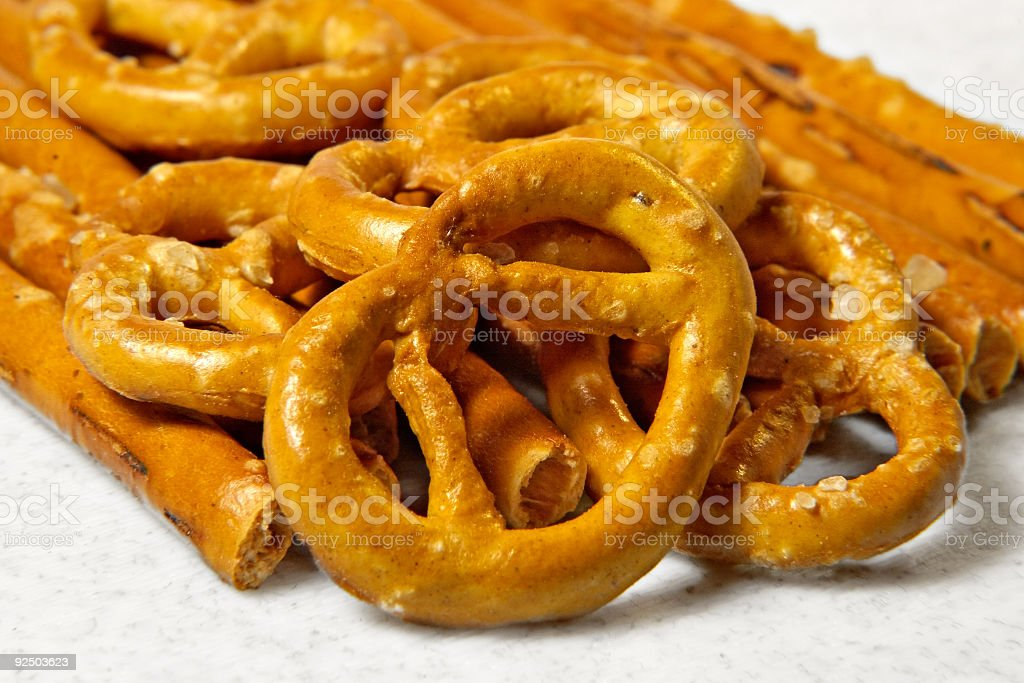 Grain sticks and cookiesinking royalty-free stock photo