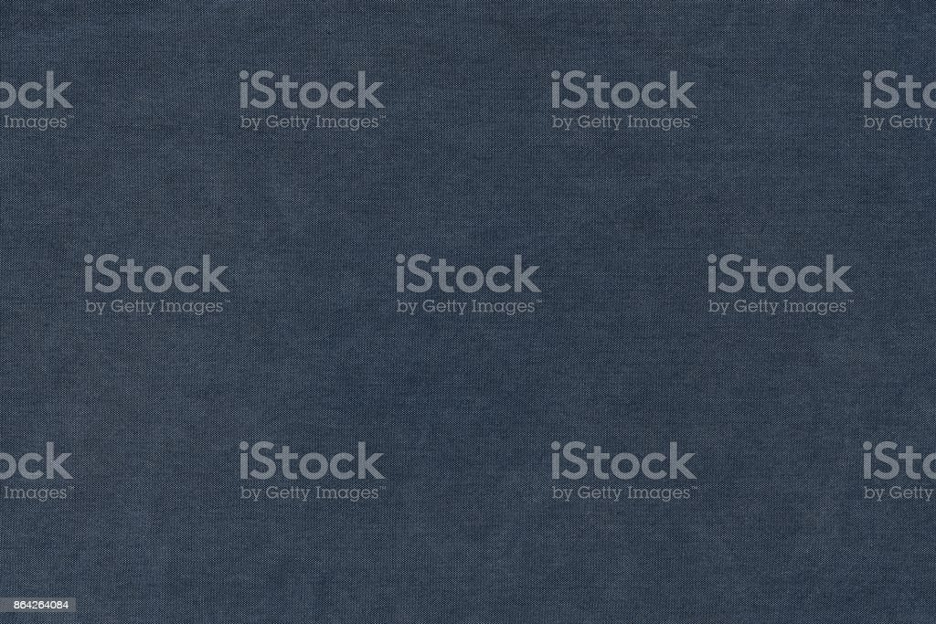 grained jeans texture of dark blue color royalty-free stock photo