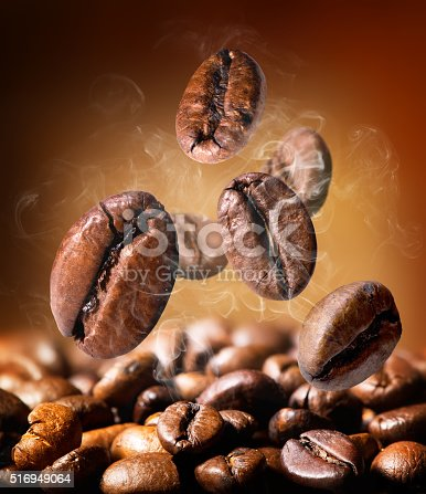 istock Grains of coffee 516949064