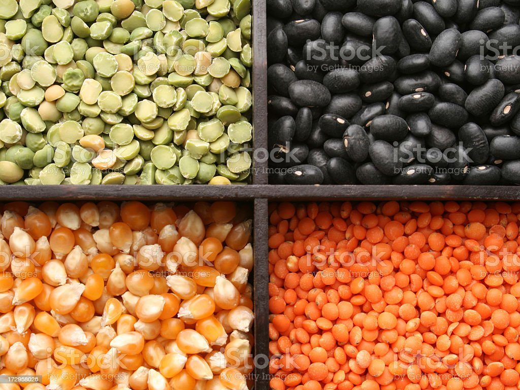 Grains royalty-free stock photo
