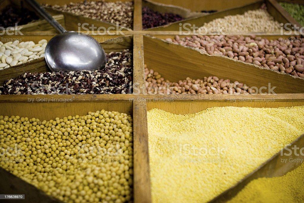 Grains royalty-free stock photo