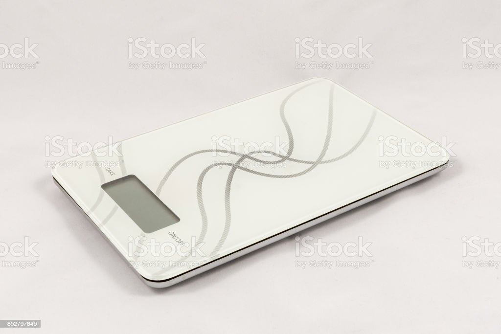 Gram digital kitchen scale stock photo