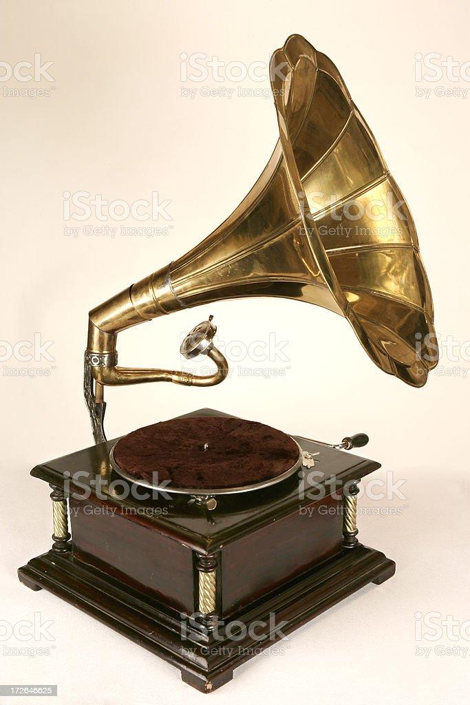 Gramaphone stock photo