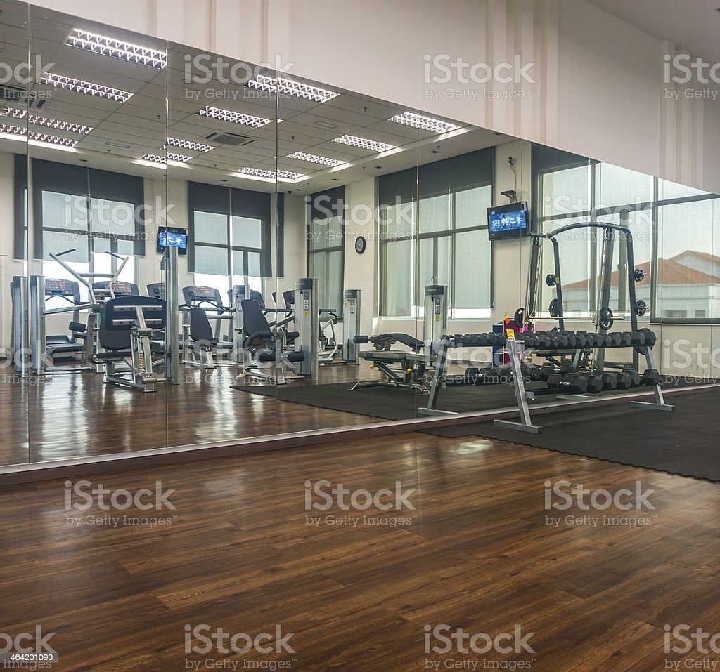 Gymnasium stock photo