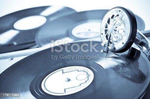 gramophone and discs