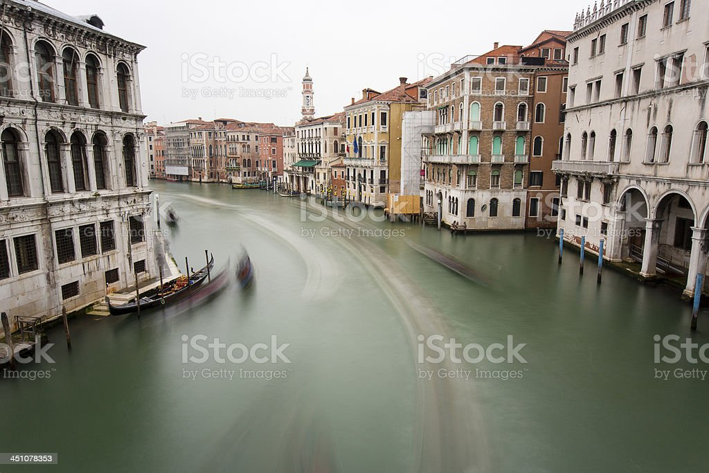 Gran Canal in Venice royalty-free stock photo