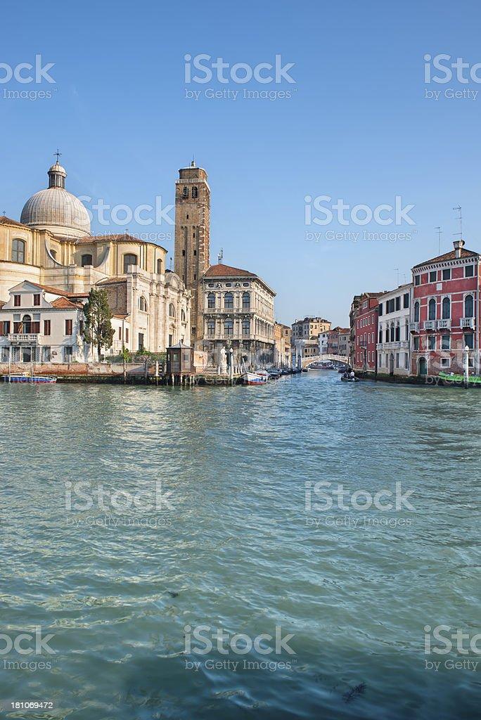 Gran Canal (Venice) royalty-free stock photo