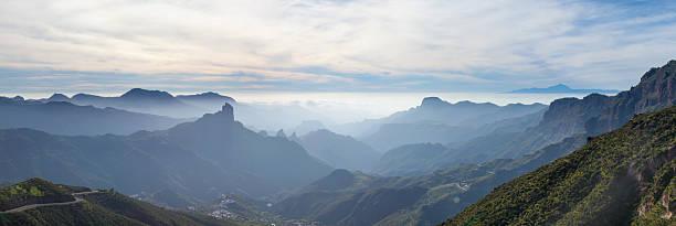 Gran Canaria, Caldera de Tejeda stock photo