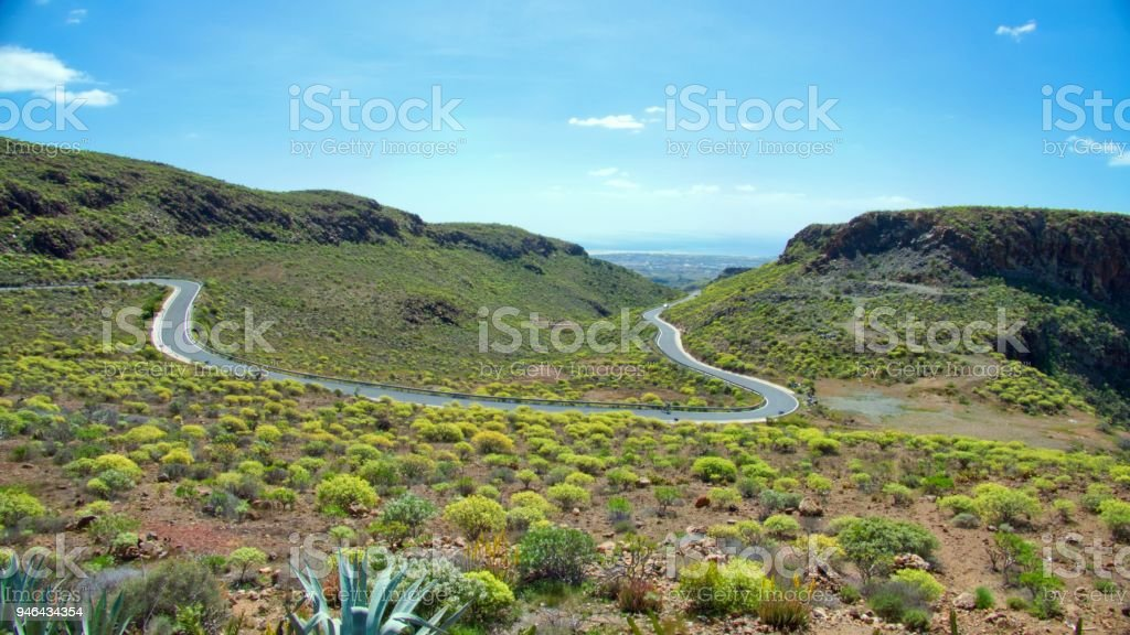 Gran Canaria - Blick auf das Tal – Foto