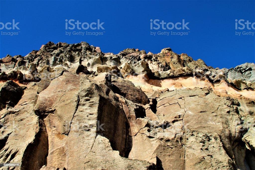 Gran Canarian mountain royalty-free stock photo