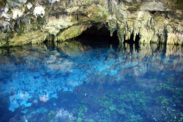 Gran Cenote / Sistema Sac Actun, Mexico stock photo