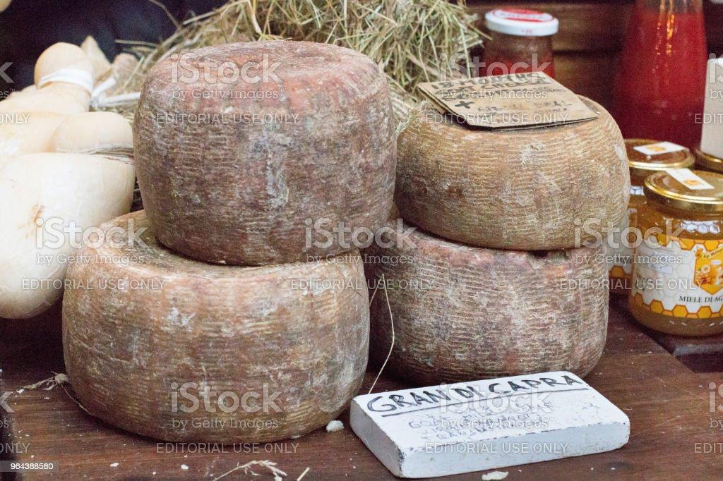 Gran Di Capra no Borough Market, Londres - Foto de stock de Alimentação Saudável royalty-free
