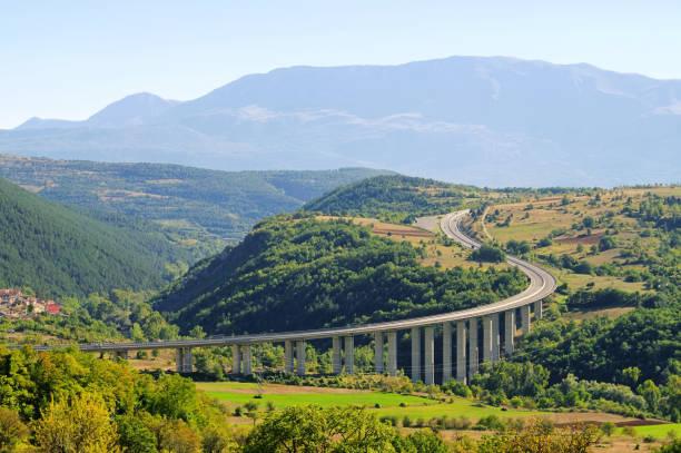 Gran Sasso-Autobahn – Foto