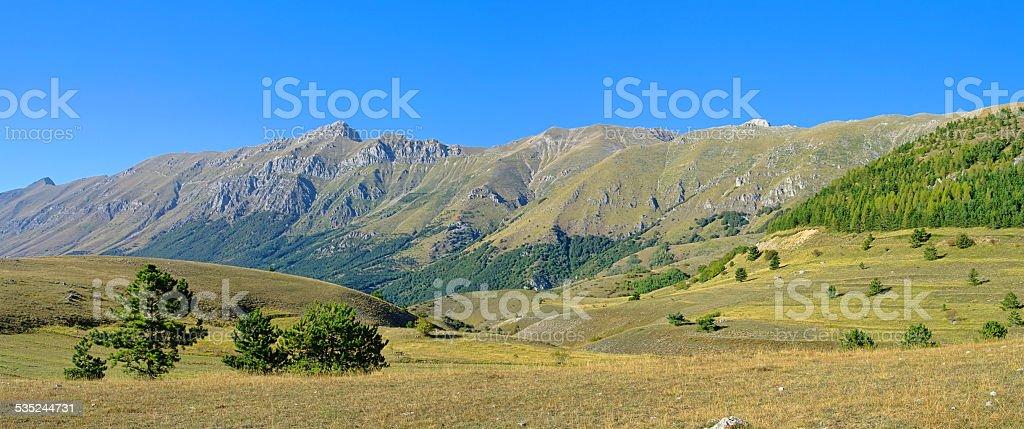 Gran Sasso stock photo