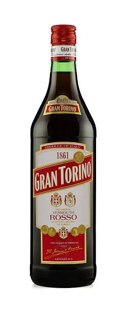 Gran Torino Rosso Vermouth stock photo