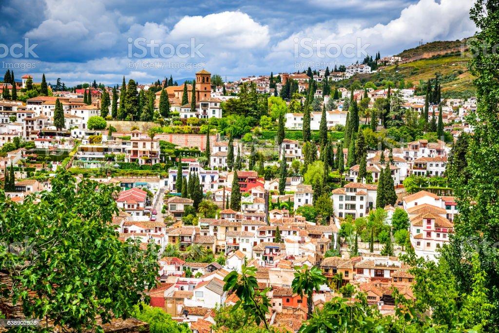 Foto de Granada Albaicin Moorish Quarter Andalusia In Spain e mais