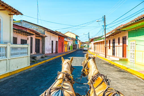Granada By Horse Carriage Stock Photo - Download Image Now
