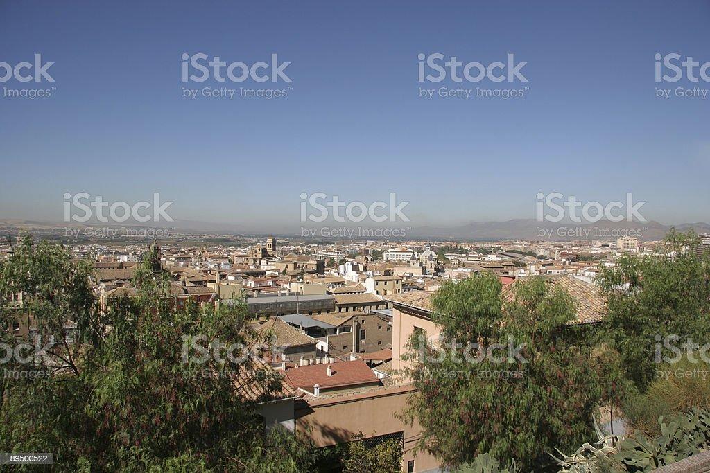 Granada foto stock royalty-free