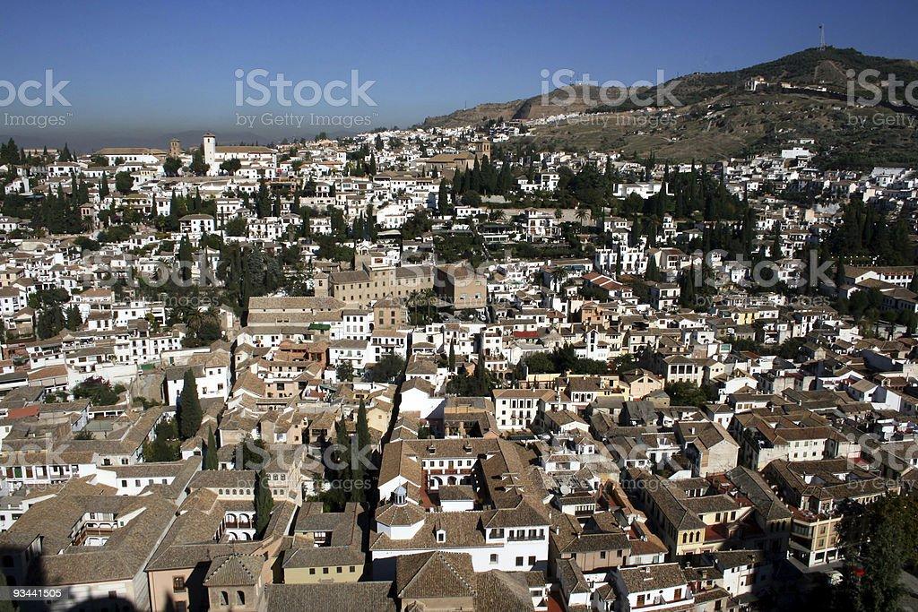 Granada royalty-free stock photo