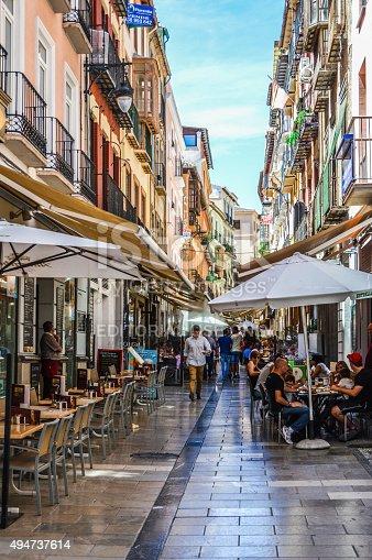 istock Granada, Spain - Medieval Street 494737614