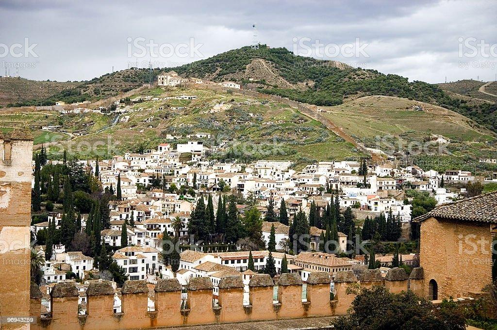 Granada. Spain royalty-free stock photo