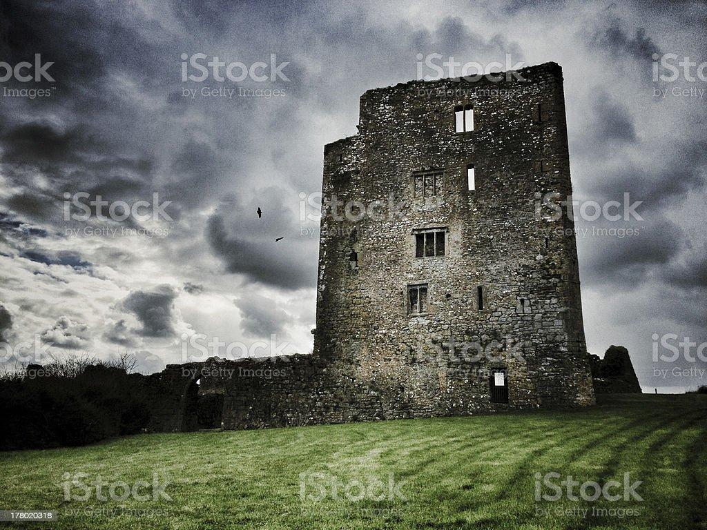 Granagh Castle stock photo